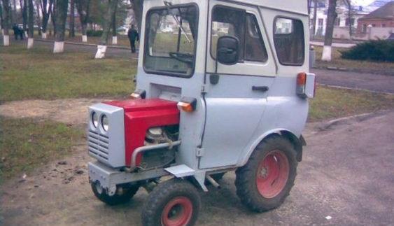 В Україні виявили «найнезвичайніший трактор» (Фото)