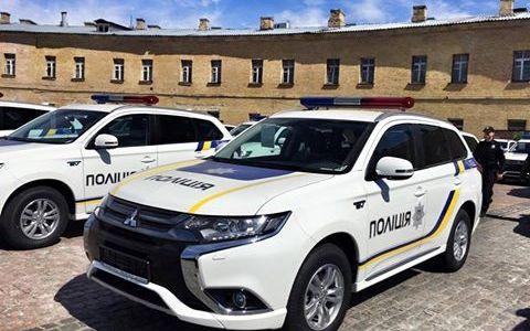 Поліція отримає новенькі іноземні позашляховики (Фото)