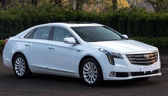 Оновлений Cadillac XTS сфотографували до прем'єри