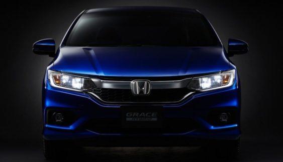 Honda продемонструвала свій оновлений гібридний седан Grace