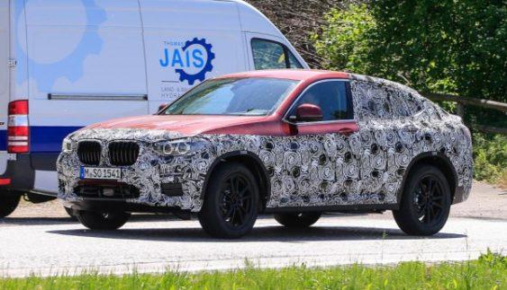 Новий BMW X4 помічений на тестах (Фото)