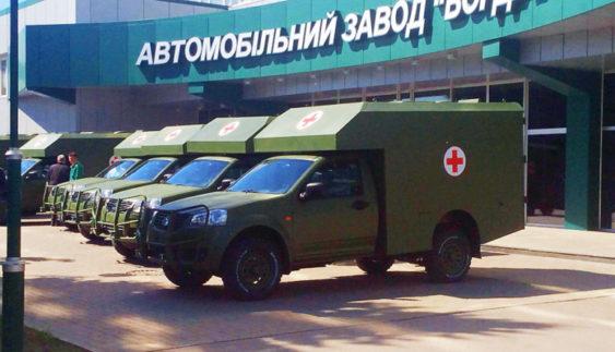 Санітарні автомобілі «Богдан» відправлять на фронт