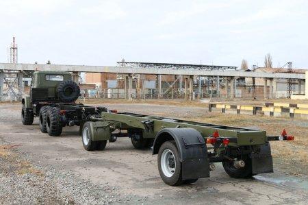 КрАЗ-А191Н2: універсальний причіп-позашляховик (Фото)