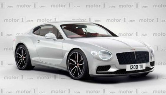 Опубліковано зображення нового Bentley Continental GT 2018