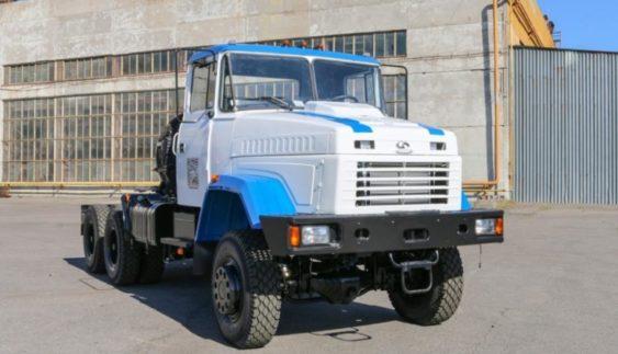 Вантажівки атомників – нові КрАЗи для обслуговування АЕС (Фото)