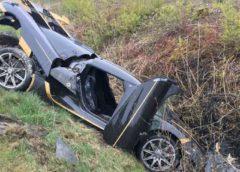 Сумне видовище: розбили автомобіль вартістю $2 млн (Фото)