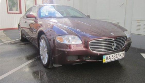 В Україні седан Maserati продали за ціною Skoda Fabia (Фото)