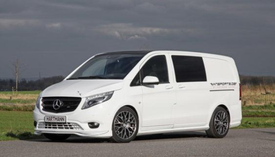 Hartmann оновили фургон Mercedes-Benz Vito (Фото)