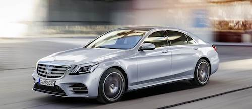 Mercedes-Benz назвав ціни на новий S-Class 2018