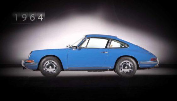 Продемонстрували еволюцію Porsche 911 (Відео)