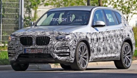 З'явилися нові зображення BMW X3
