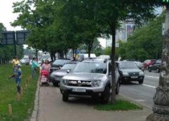 """Як виглядає київський парад """"автохамів"""" (Фото)"""