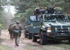 Українські «Дозори» вперше засвітилися на навчаннях ЗСУ