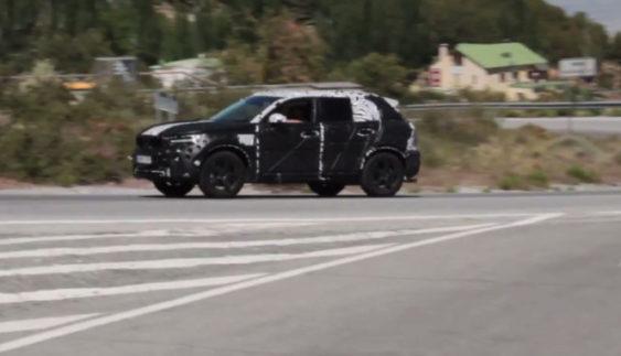 Volvo проводить фінальні тести нового кросовера XC40 (Відео)