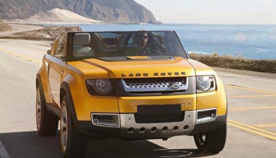 Land Rover збирається випустити нову модель автомобіля Defender