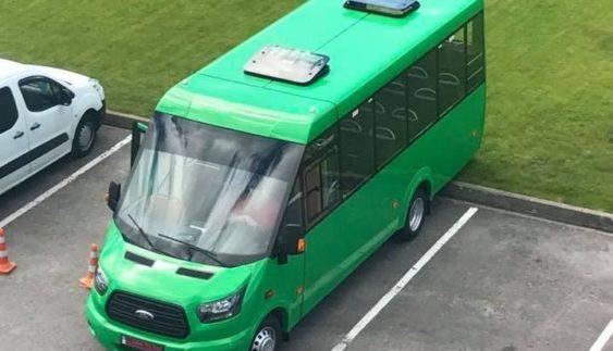 Нова українська маршрутка «Рута» – на шасі Ford Transit (Фото)