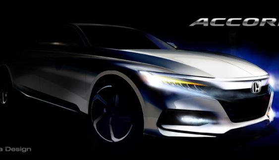 Хонда опублікувала перше офіційне зображення нового Акорд