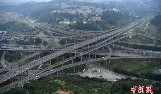 Побудували найбільшу у світі транспортну розв'язку (Фото)