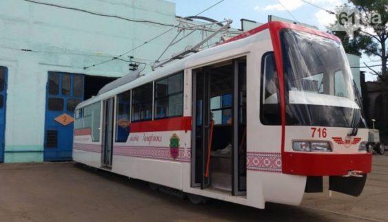 У Запоріжжі випустили власний трамвай (Фото)