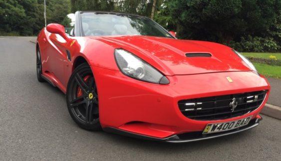 Українська мрія: відмінна підробка Ferrari California з ГБО (Фото)