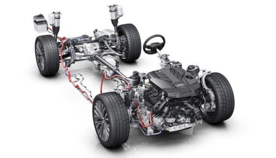 Audi A8 зможе їздити з вимкненим мотором на швидкості до 160 км на годину