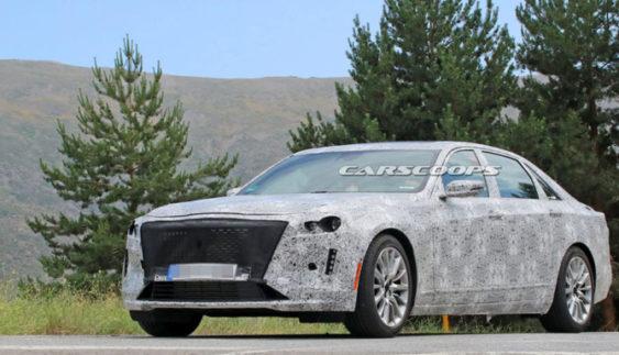 Cadillac приступив до випробувань оновленого CT6