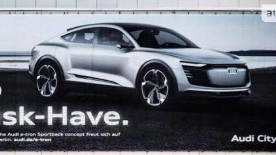 Audi обіцяє побудувати електрокроссовер кращий, ніж Tesla