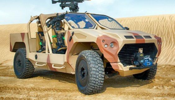 Вражає: військовий броньовик на базі Maserati (Фото)