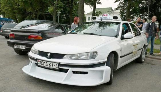 Автолюбитель побудував «копію» Peugeot 406 з фільму «Таксі» (Фото)