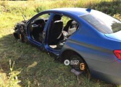 Розібраний вандалами BMW M5 знайшли частинами на сайті оголошень