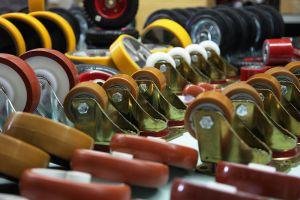Колеса і ролики для візка
