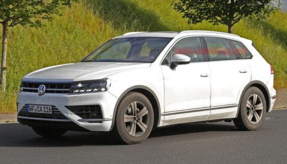 Розсекретили новий Volkswagen Touareg