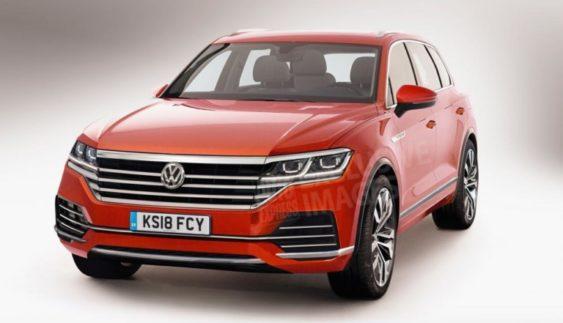 Volkswagen Touareg 2018: перші зображення нового кросовера Фольксваген