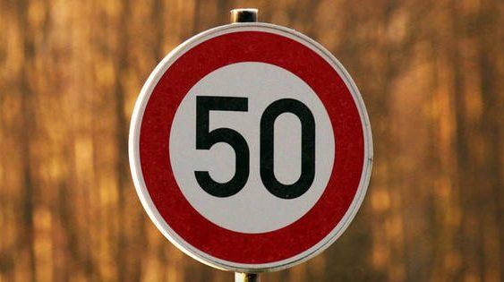 Реакція Нацполіціі на обмеження швидкості до 50 км/год