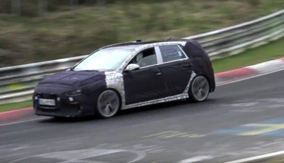 Hyundai I30 N знову виведений на дорожні тести (Відео)