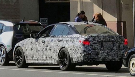 На тестах помічений новий седан BMW M5 (Фото)