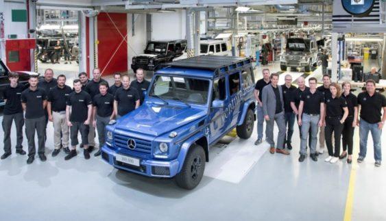 Випущений 300-тисячний позашляховик Mercedes-Benz G-Class (Фото)
