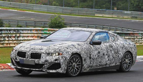 Серійний прототип BMW 8-Series проходить тести на Нюрбургринзі