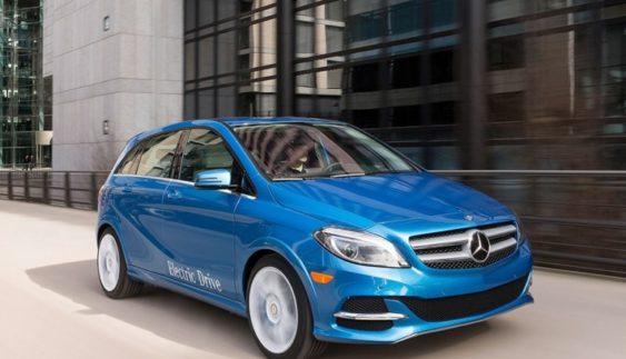 Mercedes-Benz зніме з виробництва B-Class Electric Drive