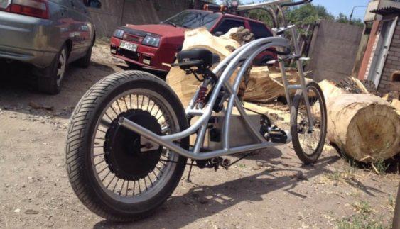 У Запоріжжі знайшли незвичайний транспортний засіб (Фото)