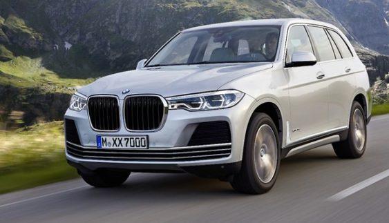 BMW почала дорожні тести нового X7