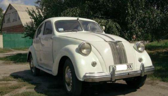 В Україні продають унікальний автомобіль часів Третього Рейху (Фото)