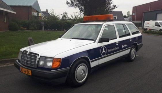 Знайдений Mercedes з рекордним пробігом (Фото)