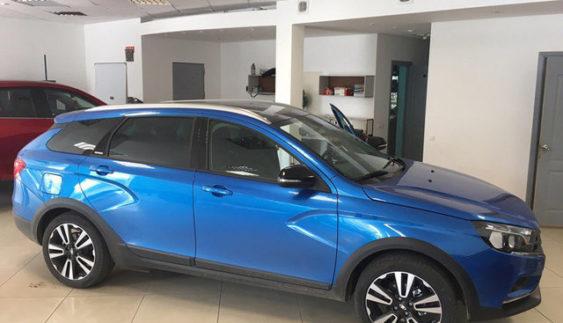 У мережі з'явилися фото найдорожчої версії Lada Веста