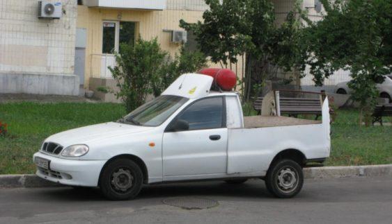У Києві з'явився ЗАЗ Ланос з незвичайним кузовом (Фото)