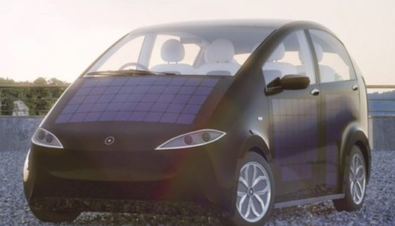 У Німеччині створили бюджетний електрокар на сонячних батареях