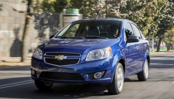 Виробник оновив седан Chevrolet Aveo