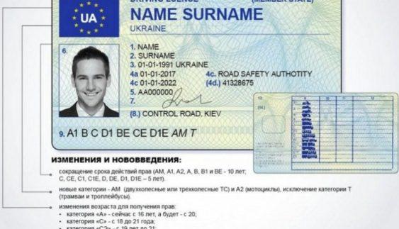 Українським водіям доведеться міняти документи