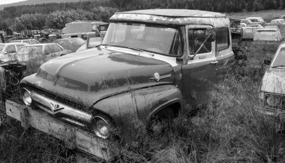 Кладовище автомобілів в Ісландії (Фото)