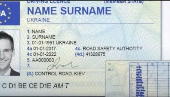 «Європейські» права в Україні: для кого заміна водійського посвідчення буде обов'язковою